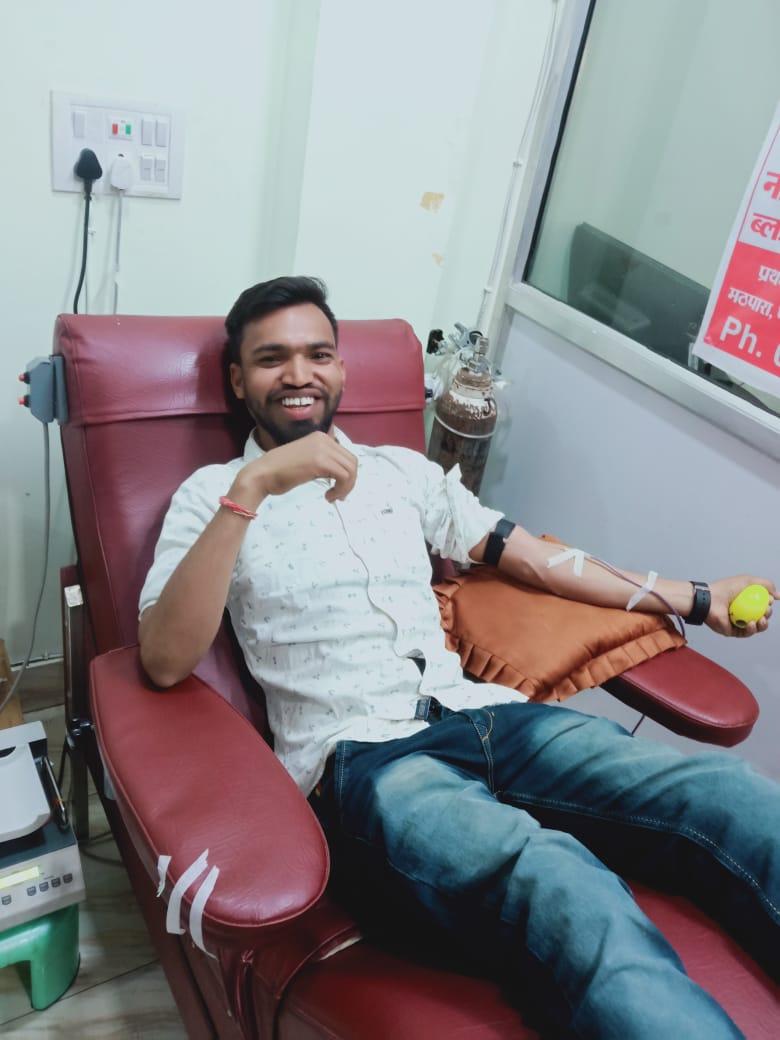 मुकेश देवांगन O+ब्लड डोनर - Mukesh Dewangan O+ Blood Donor
